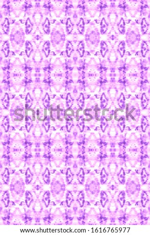 Stain Seamless Pattern. Seamless Watercolor Print. Vintage Abstract Template. Japanese Curve Lines Backdrop. Violet,White Craft Ethnic Adornment. Soft Stain Seamless Pattern.