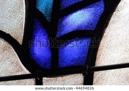 Stained glass abstract 4