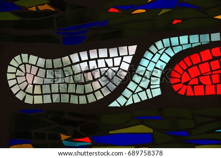 Stained Glass Texture. glass, window, stained, stained glass, glass window #689758378