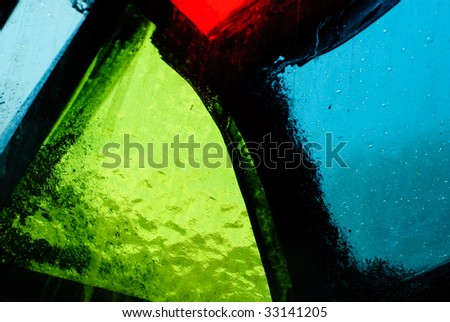 stained glass vitrage stock photo 33141205 shutterstock. Black Bedroom Furniture Sets. Home Design Ideas