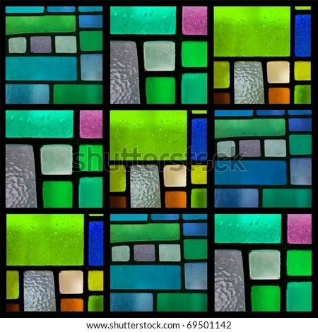 The Stained Glass Quilt Tutorial - YouTube