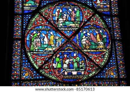 Chapter CIX, Old Stained Glass in England - Free online library