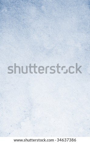 Stained gradient blue vintage background. Textured surface.