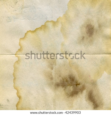 Stained grunge paper surface