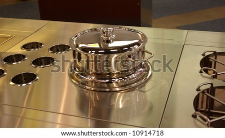 Stainless steel buffee units