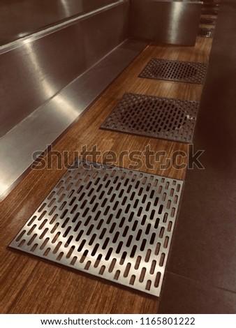Stainless Steel Flooring Grilles #1165801222