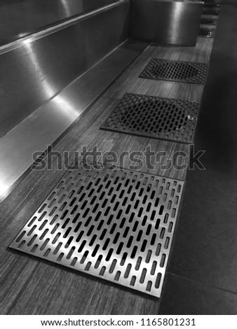 Stainless Steel Flooring Grilles #1165801231