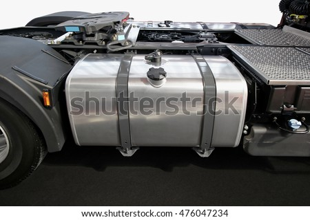 Stainless Steel Fuel Tank at Big Truck