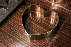 Stainless Steel Heart Shape Mould