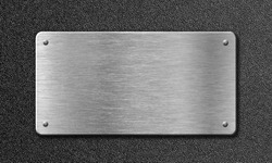 stainless steel metal plate
