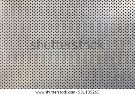 Stainless steel punched metal sheet