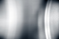 Stainless steel reflection abstract background