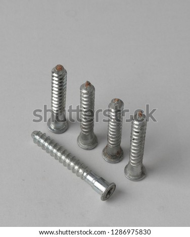 Stainless steel screws for fastening to workpieces in construction #1286975830