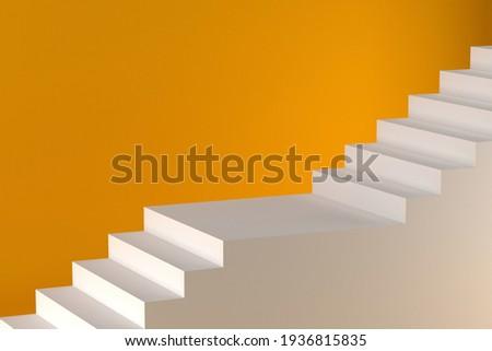 stair background image, 3D rendering  Stock fotó ©