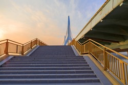 stair  to overpass