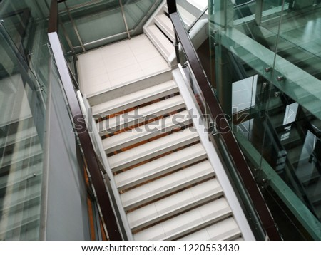 staircase in the building  #1220553430