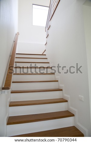 Staircase of residencial