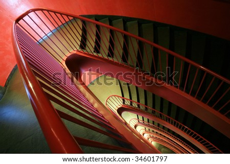staircase stair - stock photo