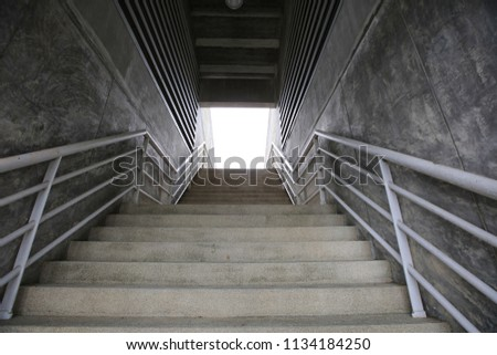 staircase the way to Success #1134184250