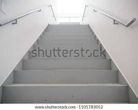 Stairs in building from underground upward #1105783052