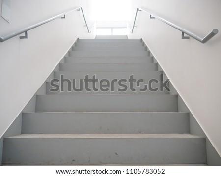 Stairs in building from underground upward #1105783052