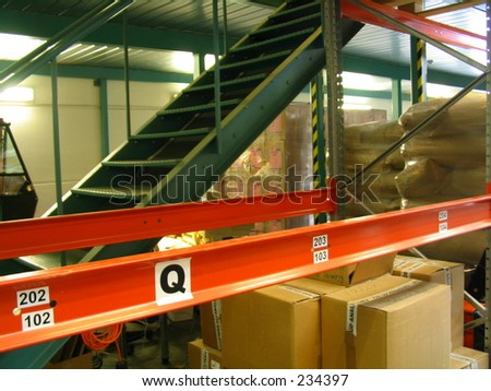 stairs in factory