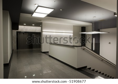 stairs in office building