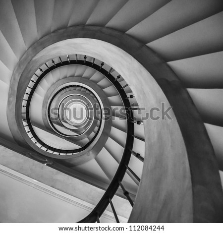 Stairs in Spain