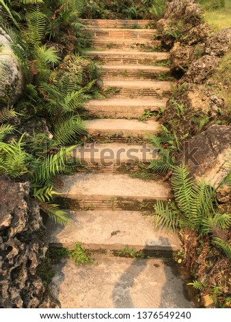 Stairs in Thailand #1376549240