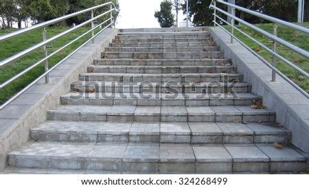 Stairs in the park #324268499
