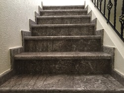 Stairs made out of marble