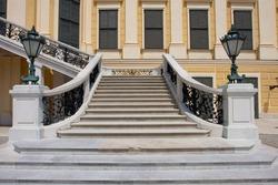Stairs, Schonbrunn, Vienna.