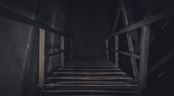 stairs to the basement
