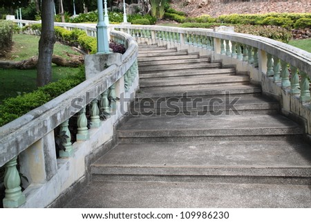 Stairs to the temple