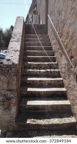 Stairway Coll Val D'Elsa #372849184