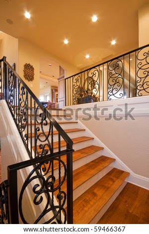 Stairway in Luxury Home