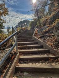 Stairway to heaven in California