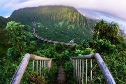 Stairway to Heaven Oahu, Hawaii