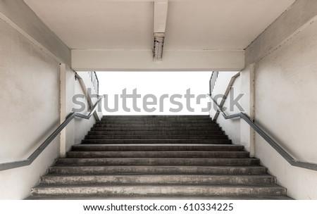 stairways for entrance stadium...