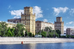 Stalin built a house Berezhkovskaya in Moscow