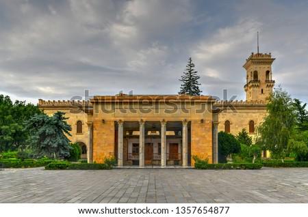 Stalin's House and the Joseph Stalin Museum in Gori, Georgia. Stock photo ©