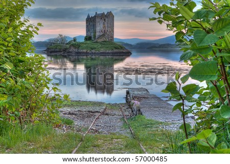 Stalker Castle in Highland, Scotland