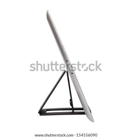 Stand for Tablet PC. White background