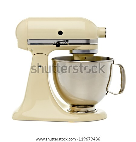 Stand mixer with clipping path