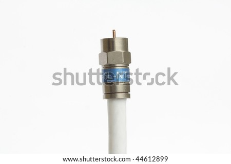 Standard coax cable connector