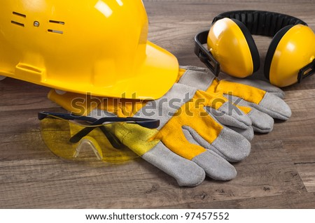 Standard construction safety equipment #97457552