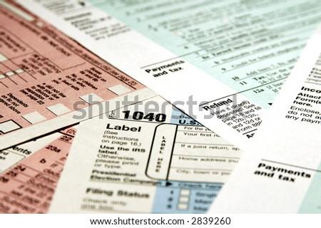 Standard 1040 Tax Forms v.9