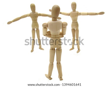 Standing image of a standing hand #1394601641