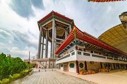Standing on a hilltop at Air Itam, near Penang Hill, Kek Lok Si ('Kek Lok Si'  means