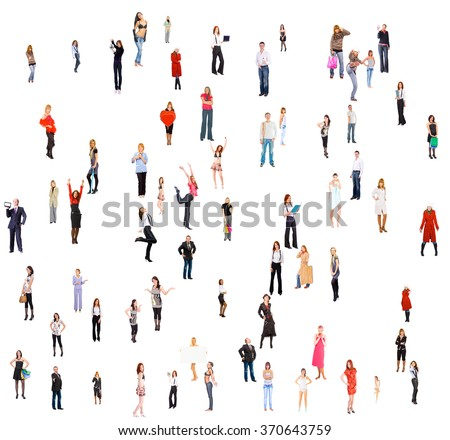 Standing Together Office Culture  - Shutterstock ID 370643759